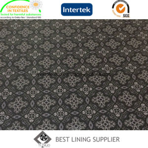 Polyester Men′s Suit Lining Fabric Print Lining pictures & photos