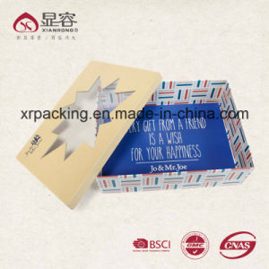 Custom Luxury Kraft Corrugated Cardboard Paper Gift Packaging Box with Logo Print pictures & photos