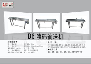 Mini Belt Conveyor for Foods pictures & photos