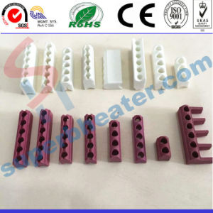 High Quality Ceramic Link Hole Parts for Mica Band Heaters pictures & photos