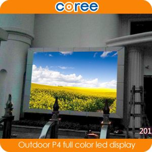 Outdoor High Definition P4 Full Color LED Screen pictures & photos