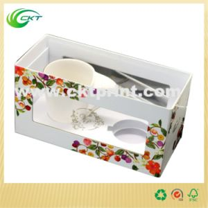 Custom Cardboard Gift Mug Box with PVC Window (CKT-CB-145) pictures & photos
