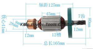 Power Tool Spare Parts (armature for Makita HM0810 use) pictures & photos