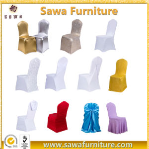 Durable Disposable Shrink Resistant Spandex Chair Cover pictures & photos