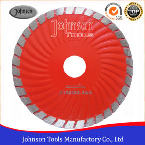125mm Sintered Turbo Wave Saw Blade for Cutting Granite pictures & photos