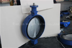 Universal Flange Connection Butterfly Valve with Ce ISO Wras Certificates pictures & photos