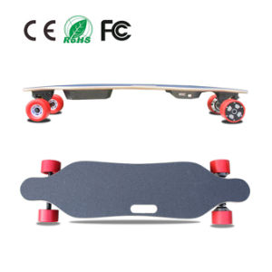 High Quality 4 Wheels Electric Skateboard Longboard with Remote Control pictures & photos