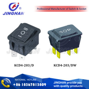 Kcd4-203 on-off Switch/ on-on Switch/Rocker Switch pictures & photos