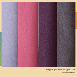 Shoe Lining Leather Thin Leatherette Fabric pictures & photos
