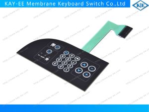 TV Control Membrane Keyboard Switch with LEDs pictures & photos