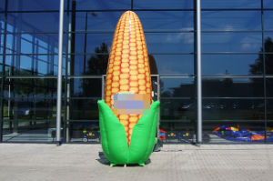 Logo Printing Giant Inflatable Corn for Advertising