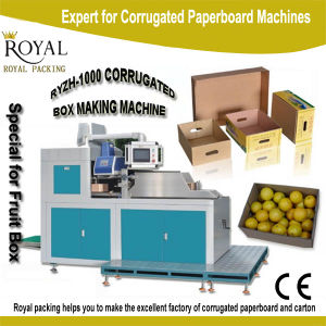Automatic Corrugated Box Machine for Fruit Packing Machine pictures & photos
