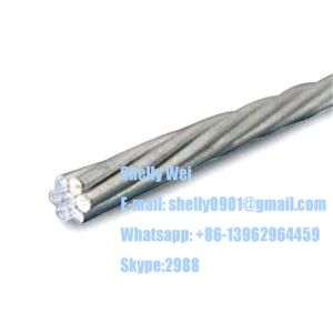 Ehs Galvanized Steel Wire Strand ASTM A475, ASTM a 363, ASTM B498, BS183 BS443, IEC, GB Standard pictures & photos