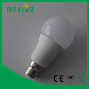 A60 A19 Plastic Aluminum LED Bulb Light 5W 7W 10W 12W pictures & photos