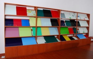 Dry Erase Interactive Magnetic Glass Whiteboard with En71 pictures & photos