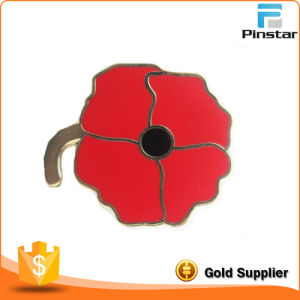 100 Years Anniversary Souvenir Traditional Poppy Pin Badge pictures & photos