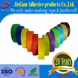 Colored Crepe Paper Masking Tape China Factory with Free Sample pictures & photos