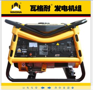 3kw/ 3.75kVA Portable Genset Open Type Petrol Generator with Ce, UL & Carb.