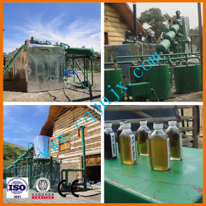 Waste Oil Into Diesel Fuel Black Oil Refining Plant with Oil Distillation Technology pictures & photos