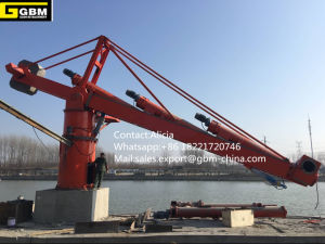 Mobile Vertical Screw Type Ship Unloader 800tph for Coal and Cement Loading and Unloading pictures & photos