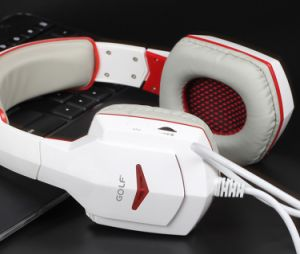 Deep Bass Game Headphone Stereo Surrounded Over-Ear Gaming Headset Earphone with Light for Computer PC Gamer pictures & photos