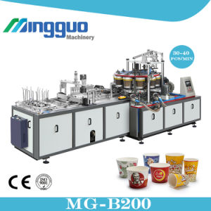 Big Size Fully Automatic Single Side PE Coated Paper Popcorn Cup Making Machine pictures & photos