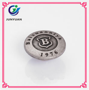 Cheap Buttons for Garments Engraved Buttons Custom Zinc Rivets pictures & photos