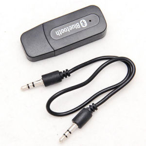 Mini USB 3.5mm Audio Stereo Bluetooth Music Receiver Car Kit for Aux in Car Home Speaker pictures & photos
