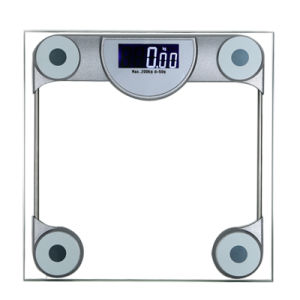 8mm Tempered Glass Platform Weighing Scale for Hotel Room pictures & photos