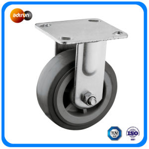 """Heavy Duty 5"""" Fixed Plate Casters pictures & photos"""