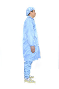ESD Smock (stand collar) (LTLD105-2) pictures & photos