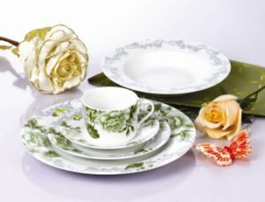 20PCS Modern Round Customized Design Hot Selling Bone China Dinnerware pictures & photos