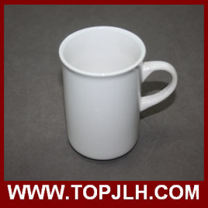 Smooth Glossy Surface Aboraal White Ceramic Mug pictures & photos