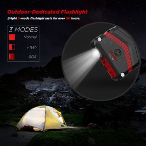 20100mAh IP67 Waterproof Power Bank with Flashlight Outxe pictures & photos