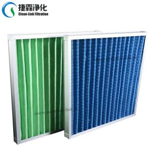 Synthetic Fiber Pleated Air Filter for Pre Filtration pictures & photos