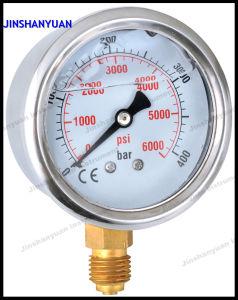 Og-007 Crimped Vibration-Proof Pressure Gauge pictures & photos