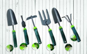 High Quality Garden Tools Q235 Carbon Steel Flat Hand Hoe with Plastic Handle pictures & photos