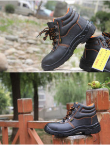 High quality Steel Toe Safety Shoes pictures & photos