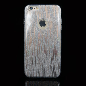 Vertical Stripes+Shiny Powder Mobile Phone Cases with Many Patterns