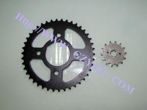 Motorcycle Parts, Sprocket Chain Set, Sprocket Kit for Bajaj Boxer pictures & photos