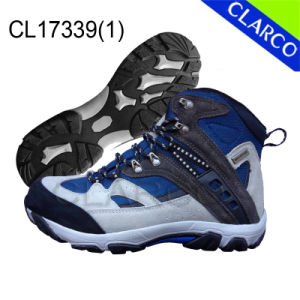 Safety Outdoor Men Hiking Sports Shoes with Rubber Sole pictures & photos