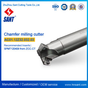 Chamfer Disk CNC Indexable Milling Cutters Matched Inserts Spmt120408 Refer to Zcc Code Cma01-032-G32-Sp12-03/ AC01.12z32.032.03 pictures & photos