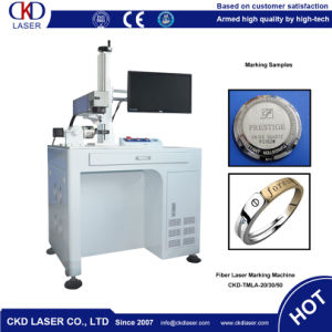 Low Energy Consumption Laser Marking Machine for Precious Metals pictures & photos