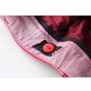 Fashion Regular Fit Chili Pepper Plain Cotton Kids Girls Shorts pictures & photos