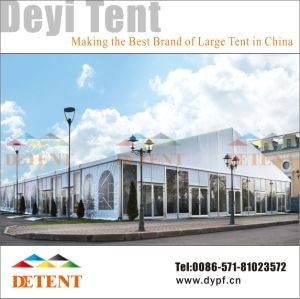 Outdoor Exhibition Event Tent with Glass Wall & Lining pictures & photos