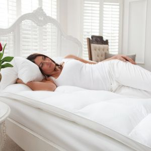 Washable Wool Cotton Mattress Topper pictures & photos