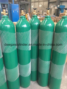 ISO9809-1 Helium Cylinder with Cga-590 Valve Export to Spain pictures & photos