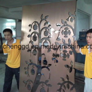 Decorative Stainless Steel Sheet Pipe PVD Titanium Coating Machine pictures & photos