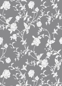 Vintage Design Floral Prints Cotton Bed Sheet pictures & photos