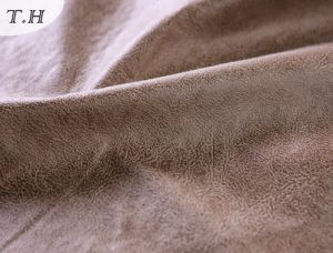 Upholstery Suede Fabric for Sofa pictures & photos
